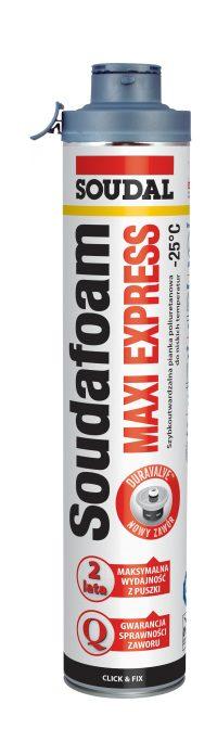Pianka montażowa Soudafoam Maxi Express Click & Fix -25°C
