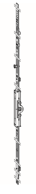 Winkhaus activPilot : Zasuwnica GAK  D 7,5 stała wysokość klamki